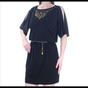 Thalia Sodi Black cocktail dress